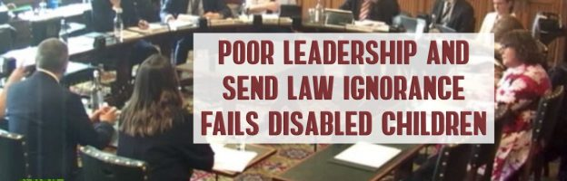 Poor leadership and SEND law ignorance fails disabled children