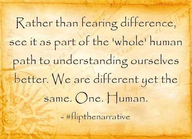 We are different yet the same