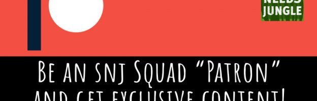 """Join the SNJ Squad as a """"Patron"""" and get exclusive content!"""