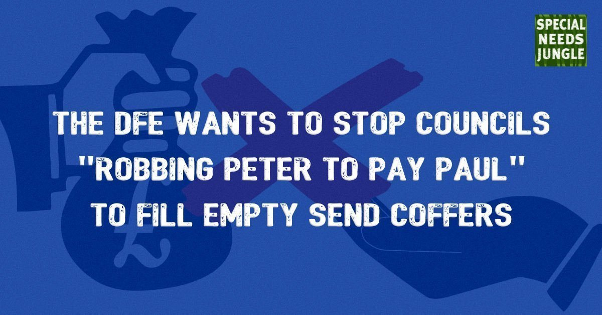 The DfE wants to stop councils 
