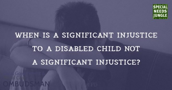 When is a significant injustice 
