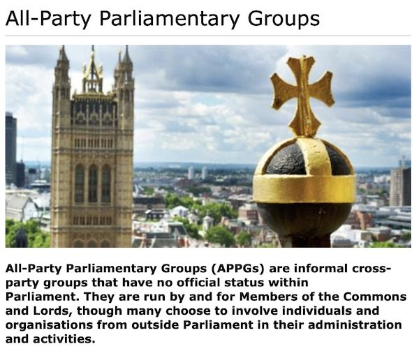 About APPGs (also in text)