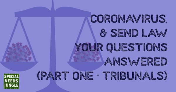 Coronavirus and SEND LAW: