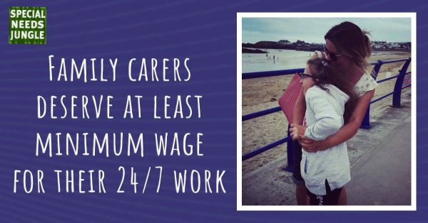 Family carers deserve at least minimum wage for their 24/7 work