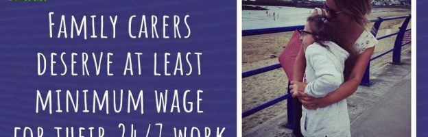 Campaign: Family carers deserve at least minimum wage for their 24/7 work