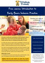 Free Early Years Inclusion Training Flyer