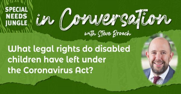 What legal rights do disabled children 
