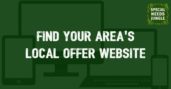 find your area's local offer website