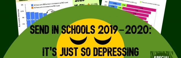 SEND in schools 2019-2020: It's just so depressing