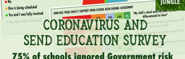 Coronavirus and SEND Education: 75% of schools ignored Government risk assessment guidance during the lockdown