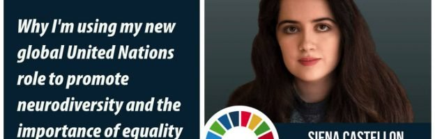 Why I'm using my new global United Nations role to promote neurodiversity and the importance of equality