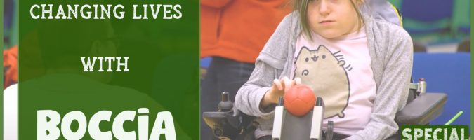 Changing lives with Boccia