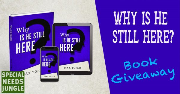 Why is He Still Here? Book giveaway image