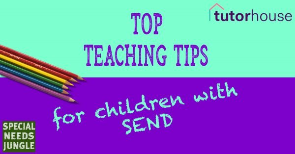 Top teaching tips for children with SEND, picture of coloured pencils