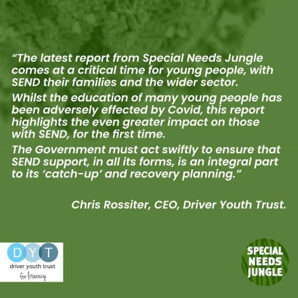 Driver Youth Trust Comment