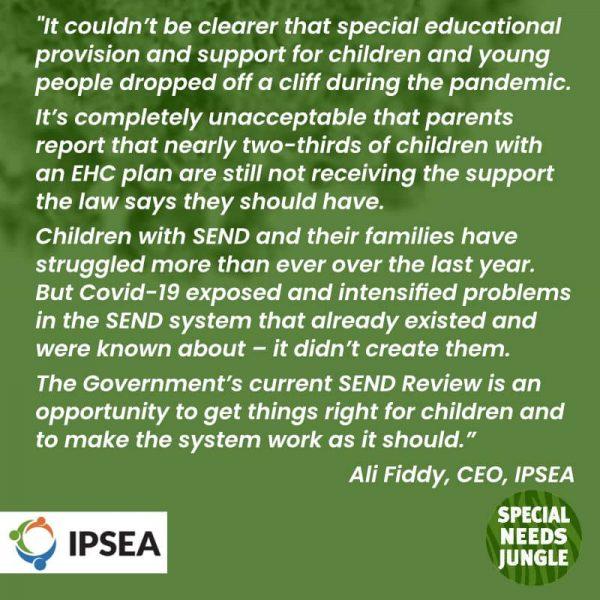 IPSEA comment