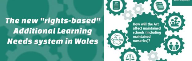 """The new """"rights-based"""" Additional Learning Needs system in Wales"""