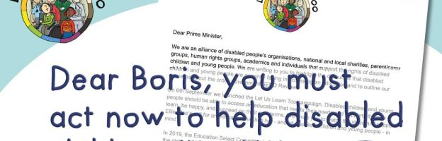 Dear Boris, you must act now to help disabled children #LetUsLearnToo