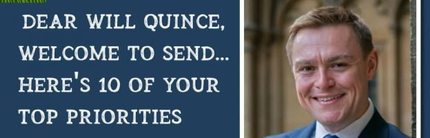 Dear Will Quince, welcome to SEND…here's 10 of your top priorities